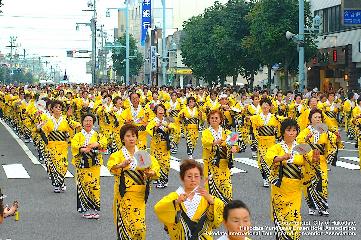 函館港まつり・いか踊り