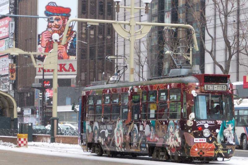 雪ミク電車2013