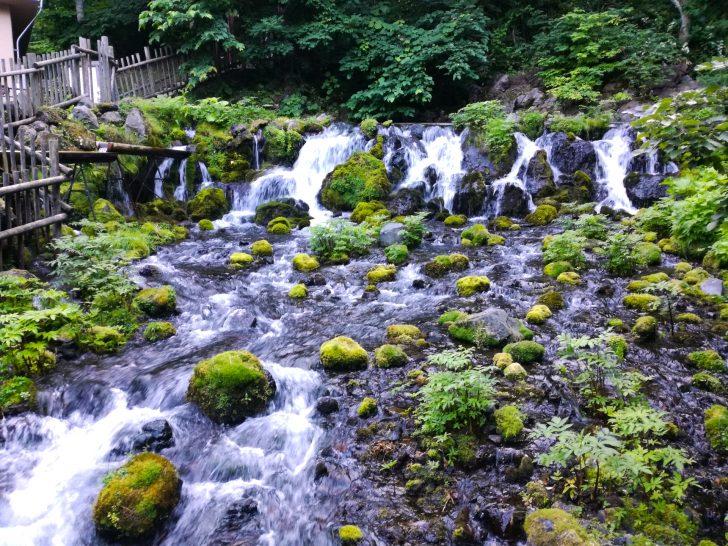 ふきだし公園(羊蹄のふきだし湧水)