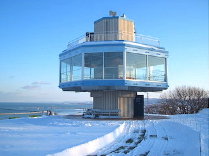 紋別公園・流氷展望台