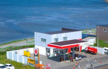 安田石油店(出光昭和シェル 宗谷岬SS)