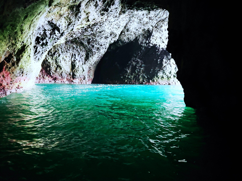の クルーズ 洞窟 龍宮 青 小樽 小樽 青の洞窟
