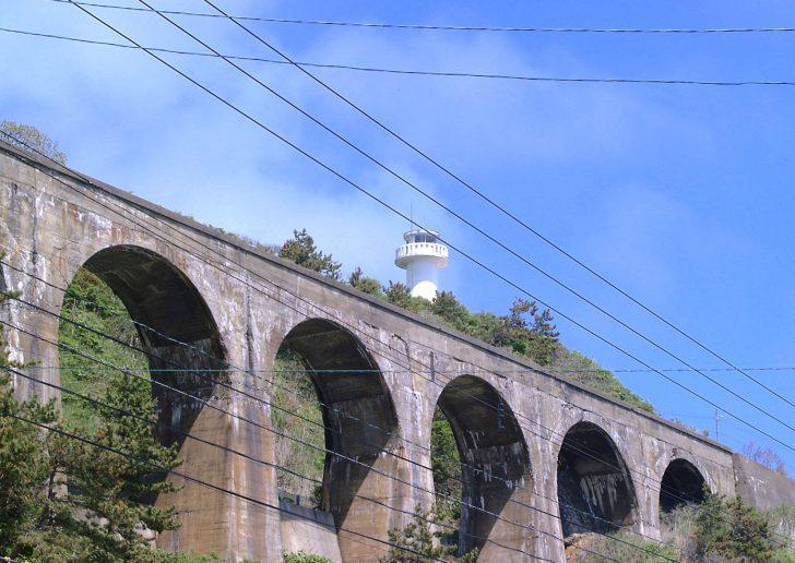 旧戸井線アーチ橋(汐首陸橋)