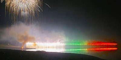 第45回かなやま湖湖水祭り(南富良野町)