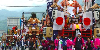 根崎神社『例大祭』(八雲町)